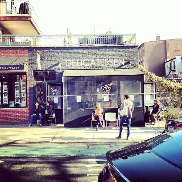 Photo taken at Mile End Delicatessen by Matt D. on 11/11/2012
