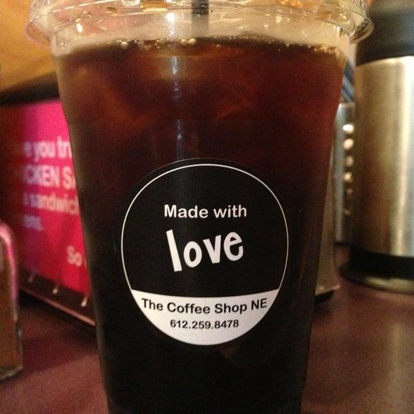 Photo taken at The Coffee Shop NE by John S. on 6/1/2013