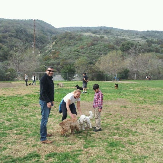 Photo taken at Laguna Canyon Dog Park by Hakan G. on 2/2/2013