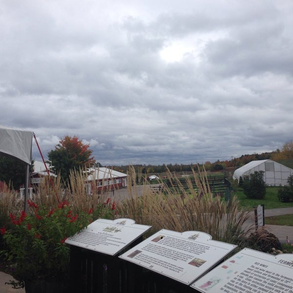 Photo taken at Black Star Farms Winery by Katherine O. on 10/13/2013