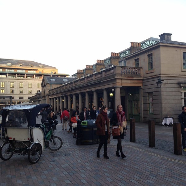 Photo taken at Covent Garden Market by Shelley B. on 3/5/2014