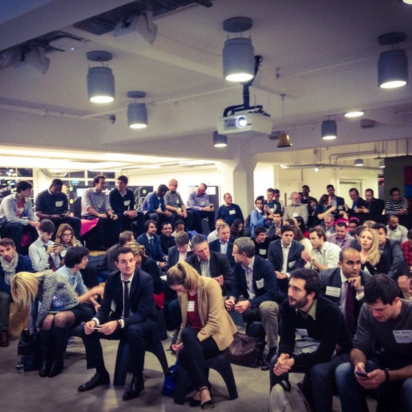 Photo taken at Wayra UK by Gary S. on 10/29/2014