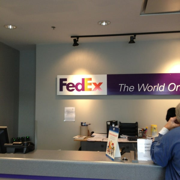 Fedex Express Ship Center Newton 1 Tip