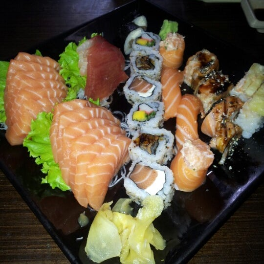 Photo taken at Joy Sushi by Giovanna C. on 2/13/2013