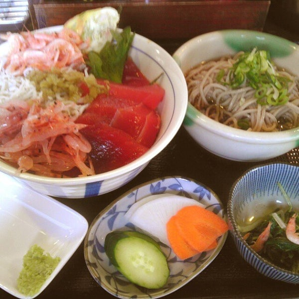 Photo taken at 食堂さくら屋 by Urah A. on 3/22/2013