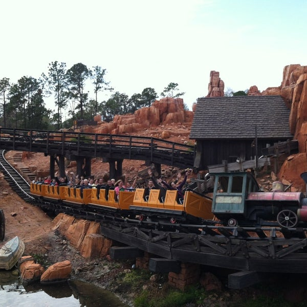 Photo taken at Frontierland by Nancy C. on 2/16/2013
