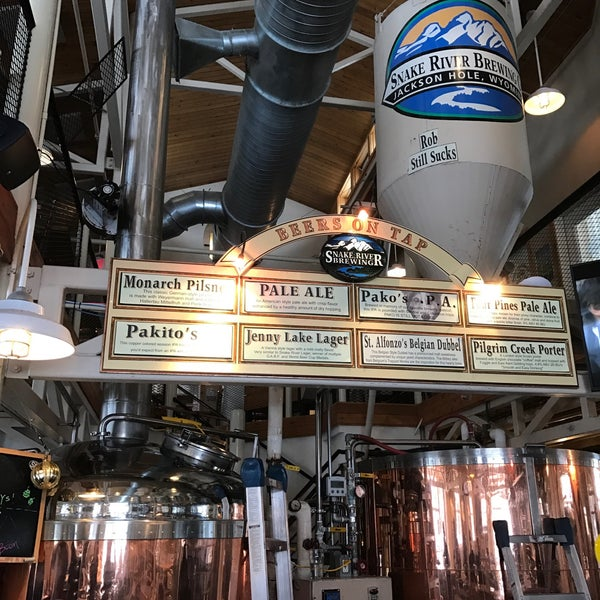 Photo taken at Snake River Brewery & Restaurant by Kim G. on 1/4/2017