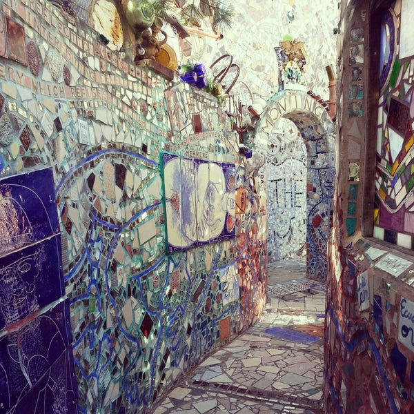 Photo taken at Philadelphia's Magic Gardens by Narma L. on 4/7/2013