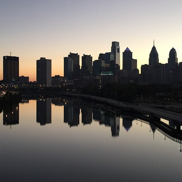 Photo taken at South Street Bridge by haveboard f. on 9/28/2014