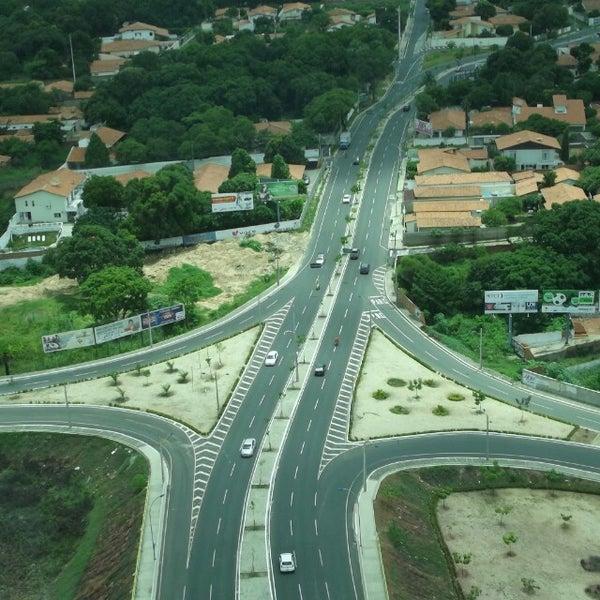 Photo taken at Ponte Estaiada by Flavio M. on 10/21/2013