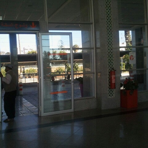 Photo taken at Gare de Mohammédia  محطة المحمدية by Ayoube B. on 7/27/2013
