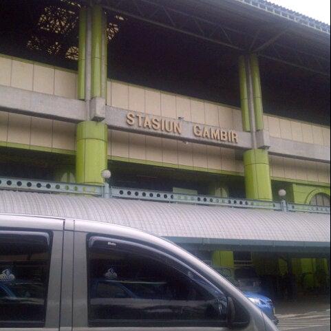 Photo taken at Stasiun Gambir by Champes R. on 4/6/2013