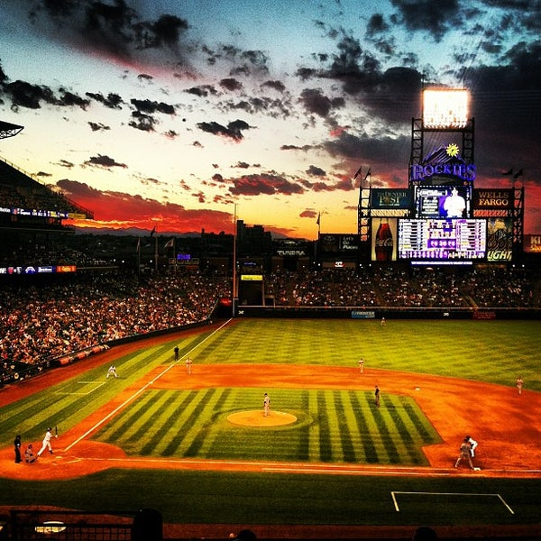Photo taken at Coors Field by Josh B. on 6/9/2013