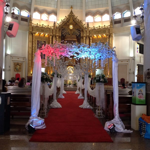 Photo taken at National Shrine of Our Lady of Peace and Good Voyage (Antipolo Cathedral) by Kathleen M. on 6/30/2015