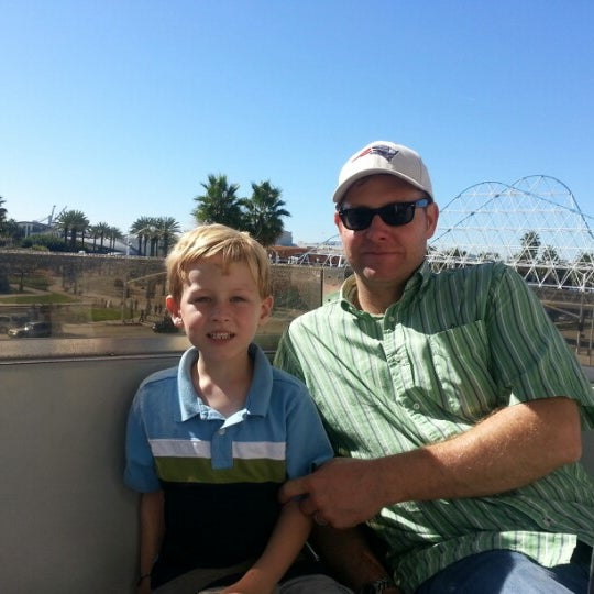 Photo taken at Ferris Wheel At The Pike by Maureen W. on 10/28/2012