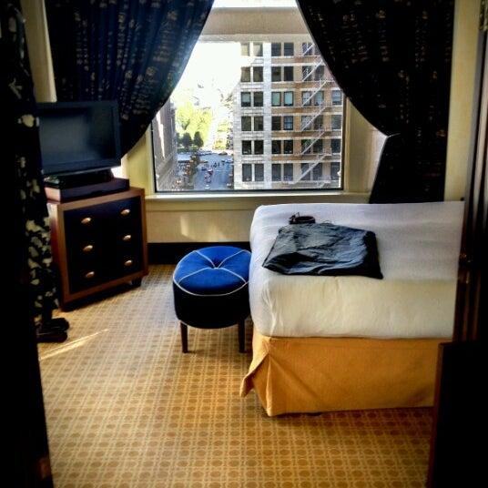 Photo taken at Hotel Burnham by Susan N. on 9/15/2012