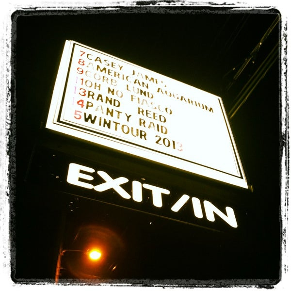 Photo taken at Exit/In by Allisa M. on 2/10/2013