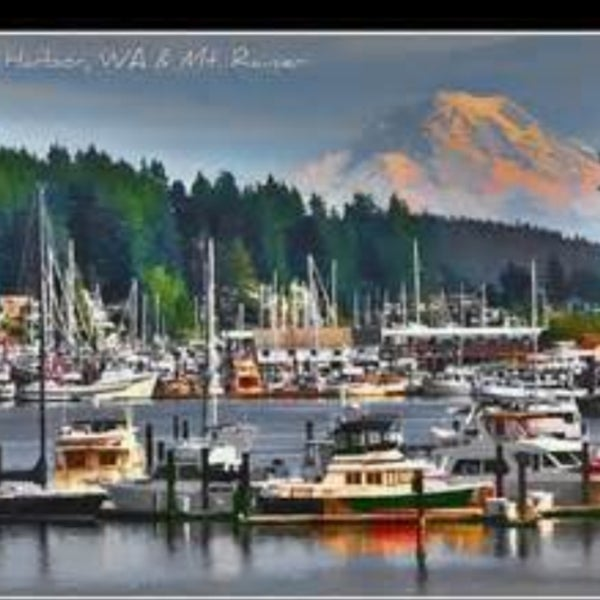 Photo taken at Gig Harbor Waterfront by David Z. on 5/2/2016