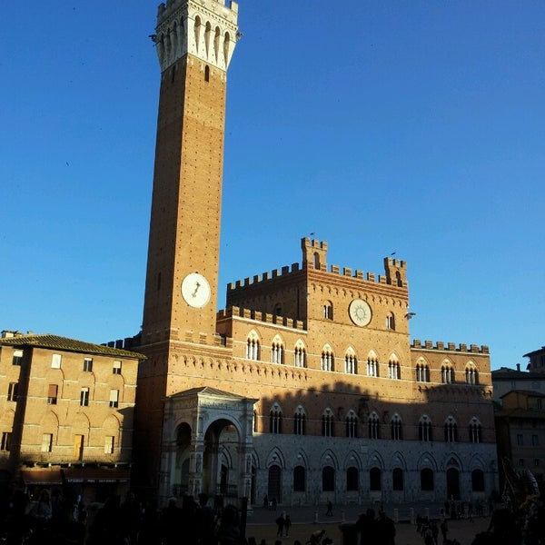 Photo taken at Piazza del Campo by Maria Irene D. on 4/13/2013