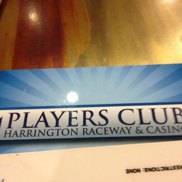 Photo taken at Harrington Raceway & Casino by Jeff D. on 9/22/2013