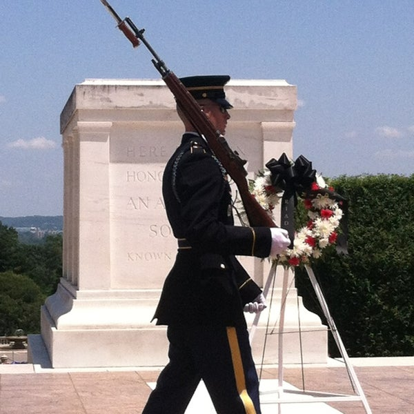 Photo taken at Arlington National Cemetery by Johnny R. on 6/2/2013