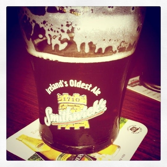 Nothing better than Smithwick's on tap