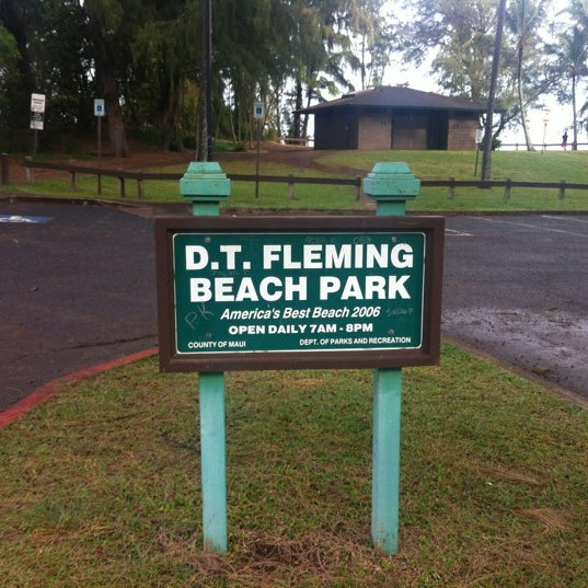 Photo taken at D.T. Fleming Beach Park by DomT on 2/19/2012