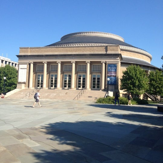 Photo taken at Bailey Hall by Jae J. on 8/23/2012