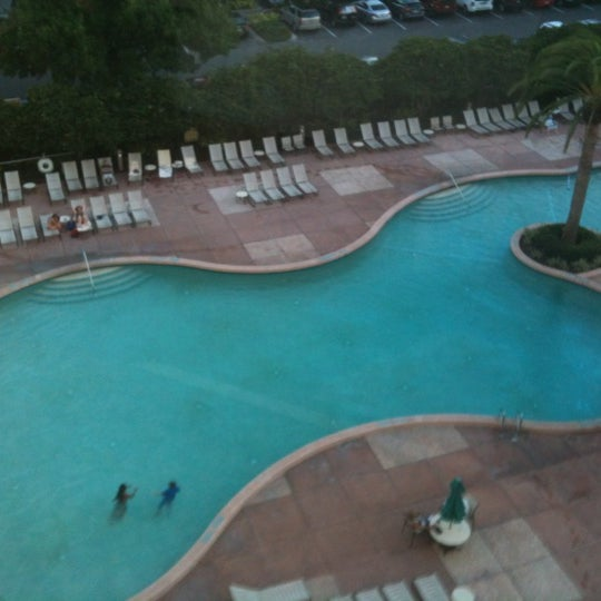 Photo taken at Rosen Plaza Hotel by Bryana W. on 6/2/2012
