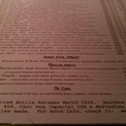 Photo taken at Novare Res Bier Cafe by Anita T. on 2/19/2012