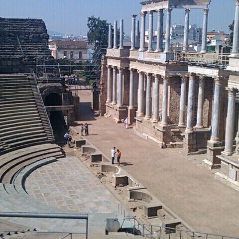Photo taken at Anfiteatro Romano by ana a. on 9/17/2011