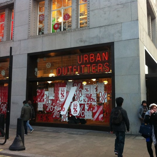 Photo taken at Urban Outfitters by Tony K. on 12/26/2011