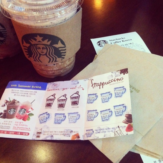 Photo taken at Starbucks by ssin N. on 6/7/2012
