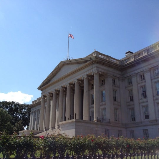 Photo taken at US Department of the Treasury by Kingston L. on 6/2/2012