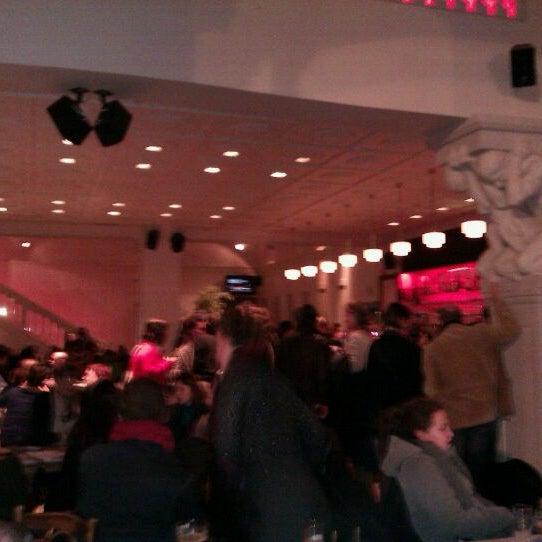 Photo taken at Vooruit Café by Sybren V. on 12/20/2011