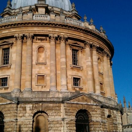 Photo taken at Radcliffe Camera by Rich P. on 11/27/2011
