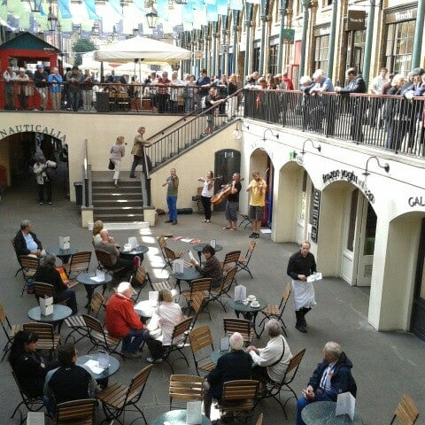 Photo taken at Covent Garden Market by Eva L. on 9/11/2012