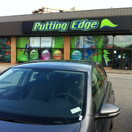 Coupons for putting edge mini golf