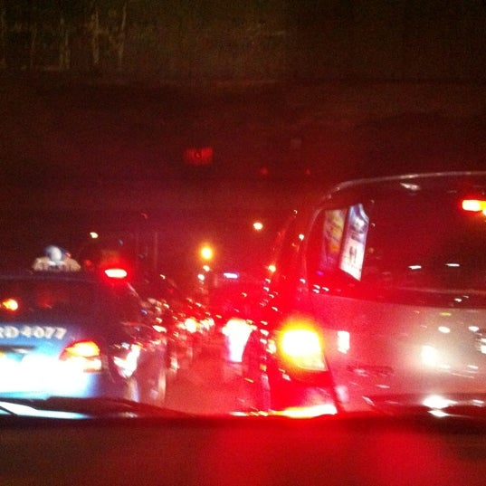 Photo taken at Perempatan Kuningan (Traffic Light) by Indira S. on 8/16/2012