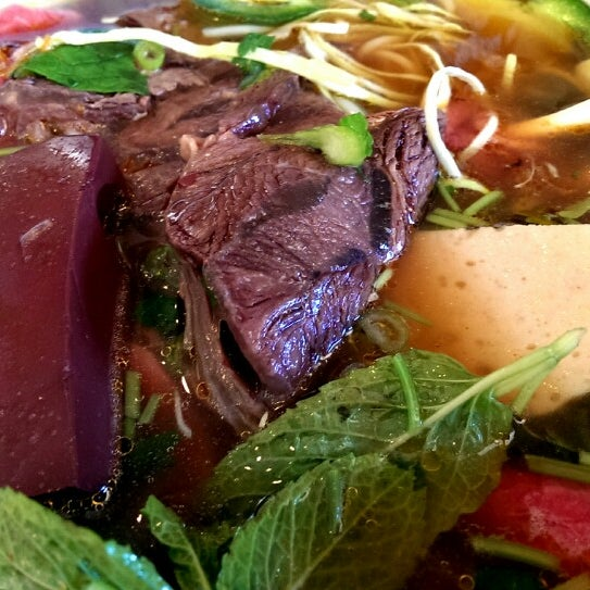 Photo taken at Pho Kim Long by Roxy L. on 12/8/2013