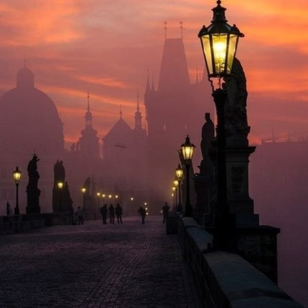 Photo taken at Karlův most | Charles Bridge by Constantin D. on 8/21/2013