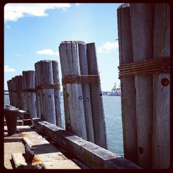 Photo taken at New York Harbor by Brett E. on 5/26/2013