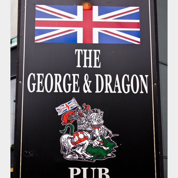 Photo taken at George & Dragon Pub by Aeryn S. on 1/2/2016