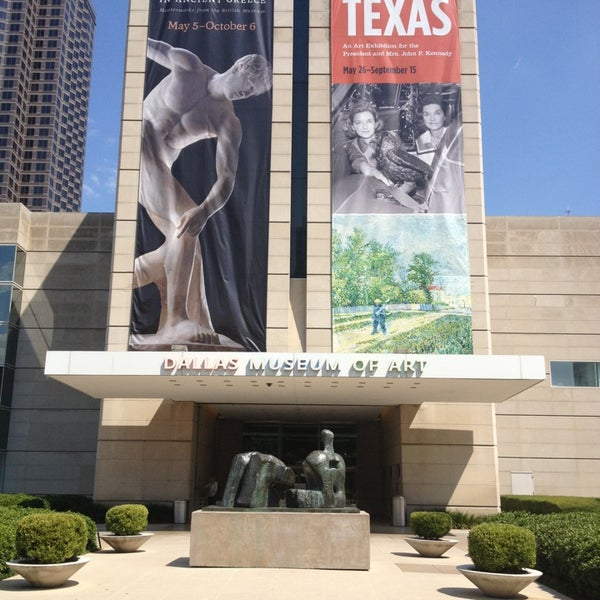 Photo taken at Dallas Museum of Art by Marsha R. on 7/2/2013