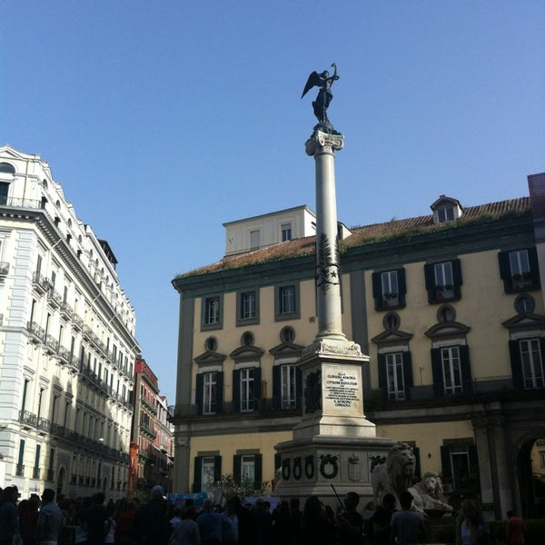 Photo taken at Piazza dei Martiri by Londoner Matteo D. on 5/18/2013