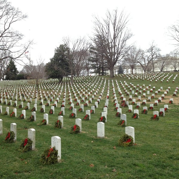 Photo taken at Arlington National Cemetery by David P. on 1/14/2013