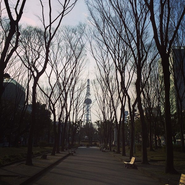 Photo taken at 久屋大通公園 リバーパーク by Shimotomania on 2/5/2015
