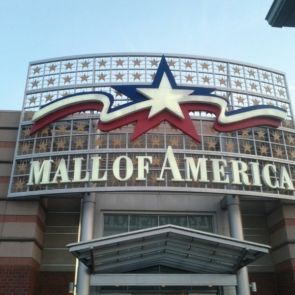 Photo taken at Mall of America by Cagri S. on 3/30/2013