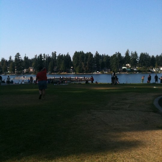 Photo taken at Steel Lake Park by Aileenieツ (권 진 애) T. on 9/10/2011