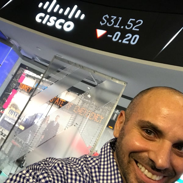 Photo taken at Nasdaq Marketsite by lino b. on 10/3/2016